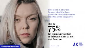 CHIFFRES INFARCTUS FEMMES TABAC ACT Alliance Contre le Tabac