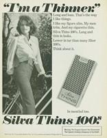 publicité Silva Thins